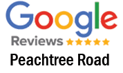 Google Reviews (Peachtree Rd.)